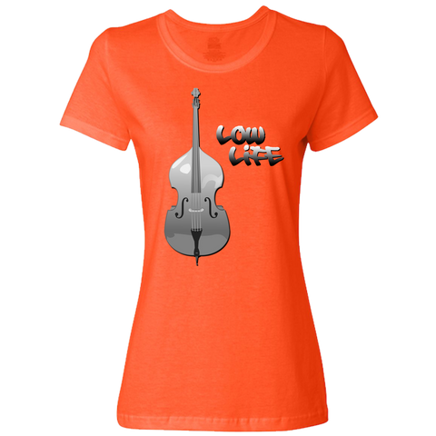 The Low Life T-Shirt for Lady Bassists