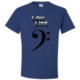 The Low Life T-Shirt with Bass Clef, Unisex Style