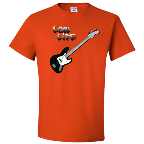 The Low Life T-Shirt for Electric Bass, Unisex Style
