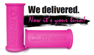 Core Prodigy Fit Grips 1.75 Pink Fat Gripz
