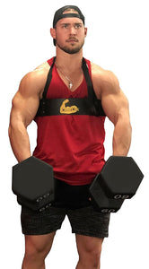 Arm Blaster bicep bomber Cannon Curl support for curls