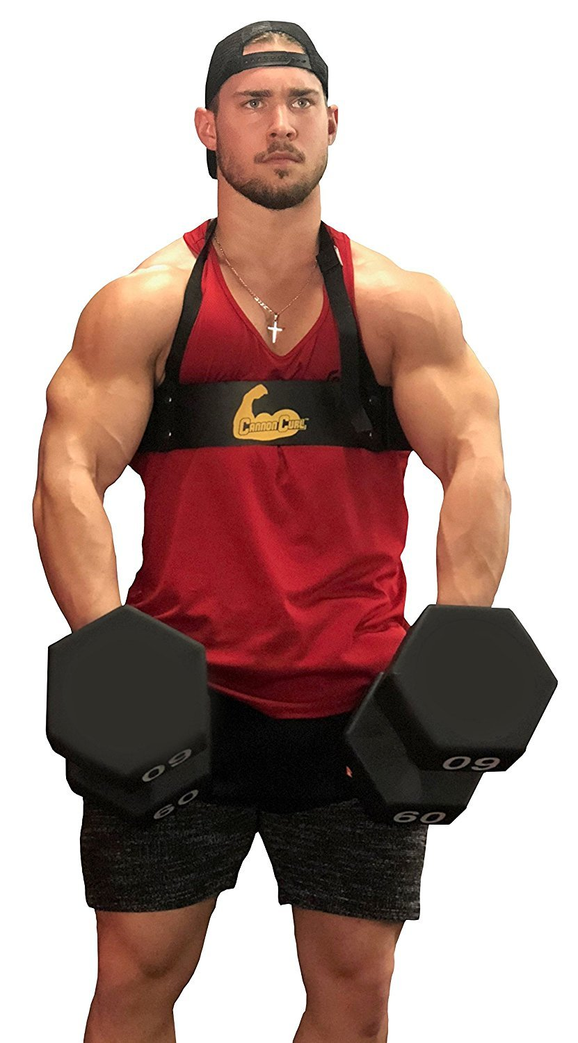 Cannon Curl Arm Blaster Bicep Bomber Support