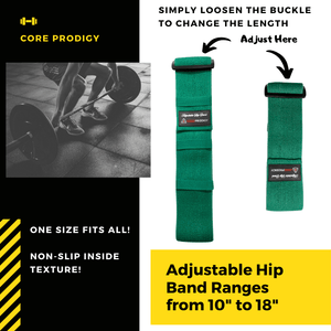 Adjustable Hip Loop Dimensions by Core Prodigy