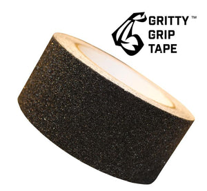"Gritty Grip Tape - Anti Slip Traction Tape (2"" x 196"") Black - Core Prodigy"