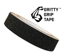 "Gritty Grip Tape 1"" x 196"" Black - Safety Tread Grit Tape"