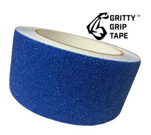 "Gritty Grip Tape - Anti Slip Traction Tape (2"" x 196"") Blue - Core Prodigy"