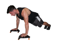 Plank & Push-up with the Core Coaster by Core Prodigy