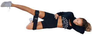 Adjustable Hip Band Circle for Legs and Glute Exercise - Core Prodigy