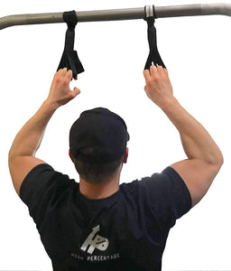 Talon Grip - Finger and Thumb Loops for Hand and Arm Strengthening. Develop an Eagle Grip! Black