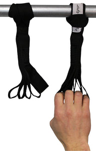 Talon Grip - Finger and Thumb Nylon Loops for Hand and Arm Strengthening. Develop an Eagle Grip! - Core Prodigy