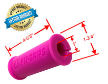 Core Prodigy Fit Grips 1.75 Pink Gripz thick dimensions