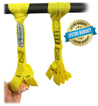 Talon Grip - Finger and Thumb Loops for Hand and Arm Strengthening. Develop an Eagle Grip! Yellow