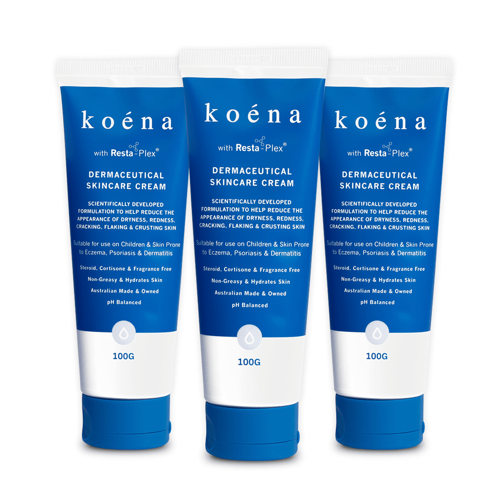 The Stockpile Pack | Koéna Dermaceutical Daily Moisturiser 3 Pack