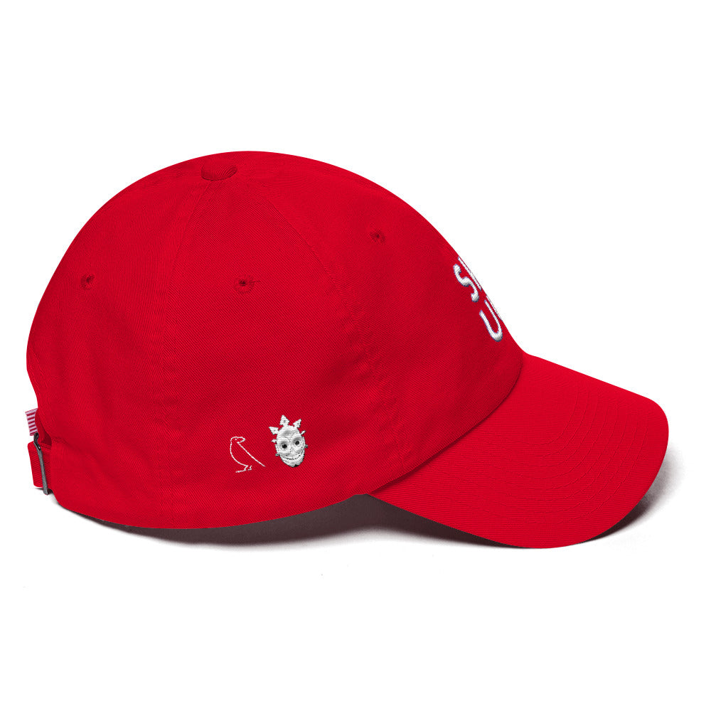 RED SKULL SKUU Cotton Cap