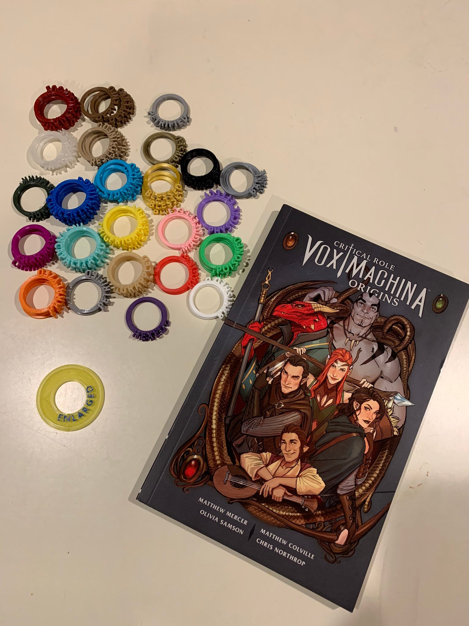 vox machina condition rings