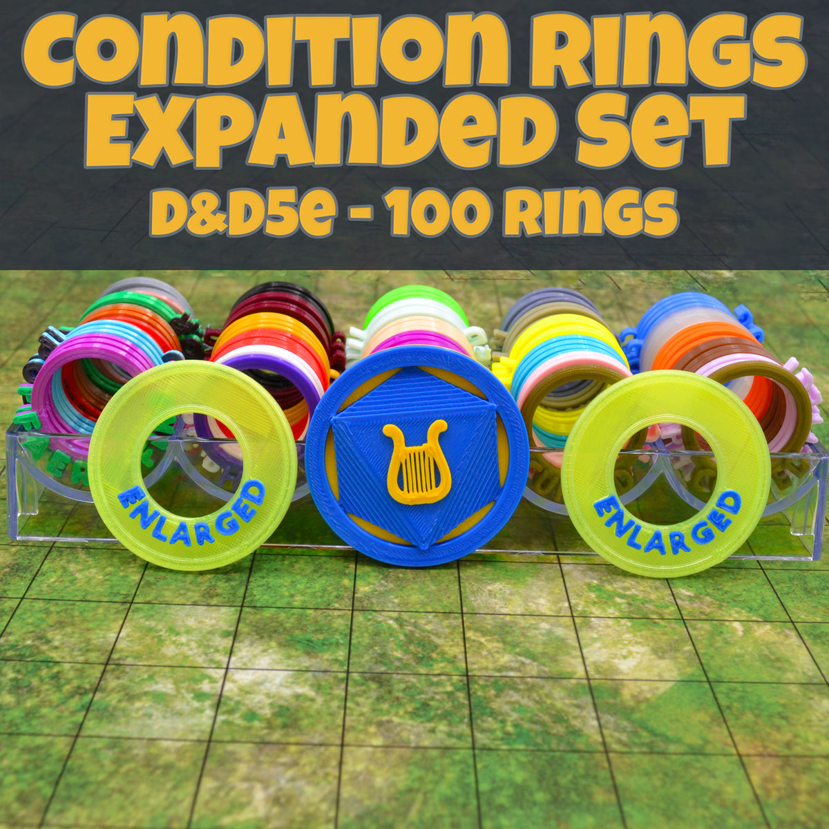 dnd condition rings