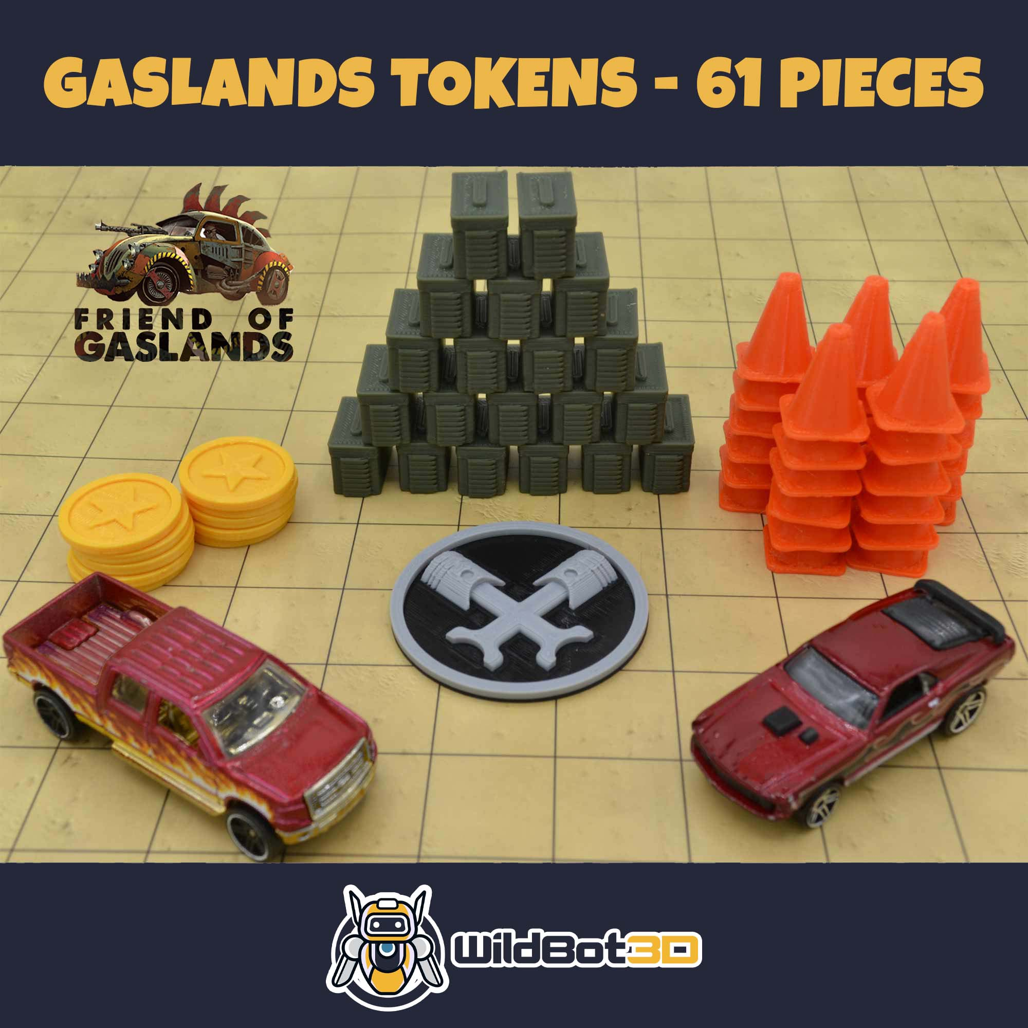 gaslands tokens