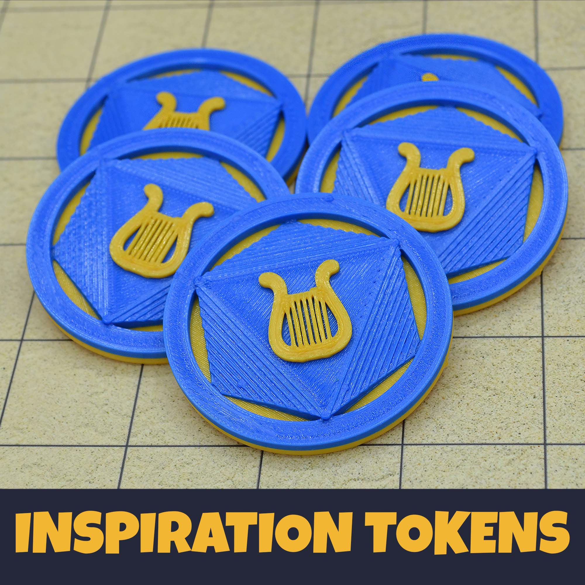 D&D Inspiration Tokens