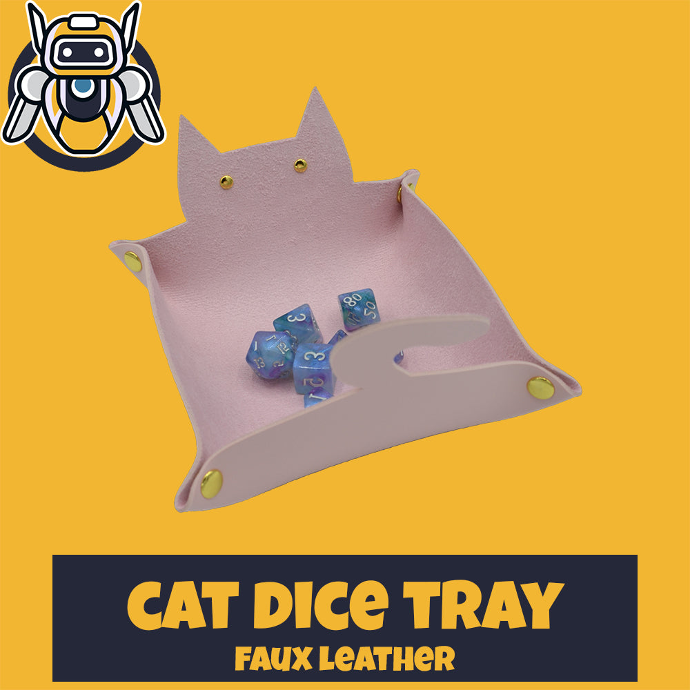Cat Dice Rolling Tray