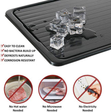 Load image into Gallery viewer, De-Freeze™ Instant Defrost Tray (No Electric Needed)