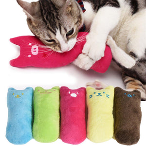 Cute Pillow Scratch Crazy Catnip Toy