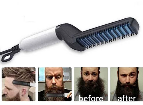 Slicks™ Beard Straightener Comb