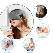 Load image into Gallery viewer, NONSOMNIA™ Luxury Bluetooth Sleep Mask