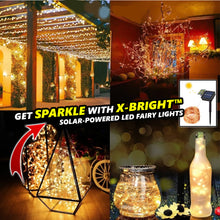 Load image into Gallery viewer, X-Bright™ Solar-Powered LED Fairy Lights
