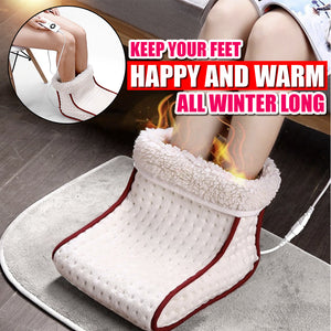 WarmFeet™ Luxury Electric Foot Warmer/Massager