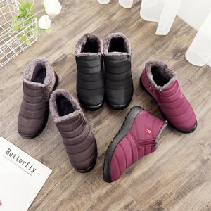 Snuuggs™ Plush Ankle Winter Boots