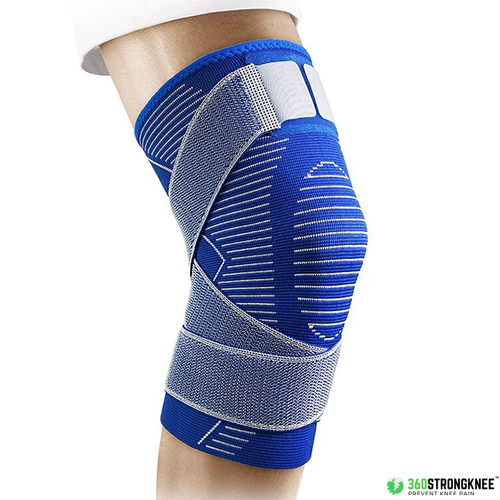 360StrongKnee™ NEW Blue Knee Injury Prevention Support Sleeve