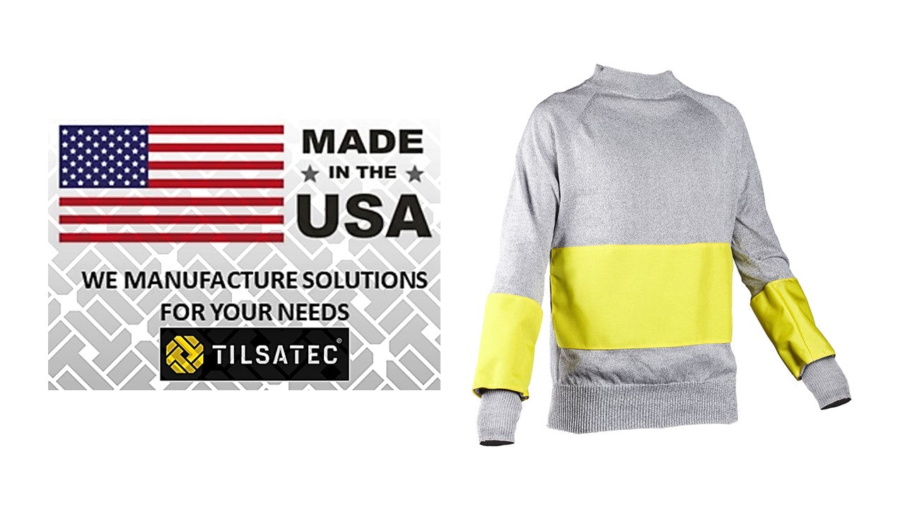 Cut Resistant Sweatshirt Series - USA Modifications