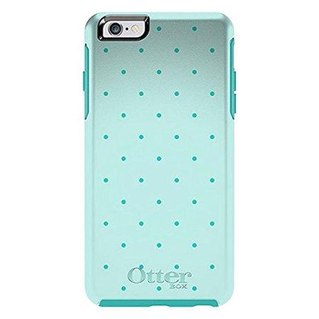 OtterBox Symmetry Case iPhone 6 Plus - AquDot Teal Green