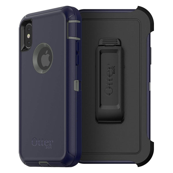 Otterbox Defender Case iPhone X - Stormy Peaks Blue/Green
