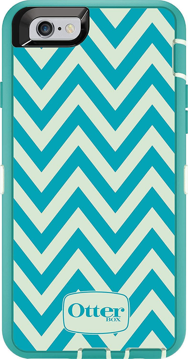 OtterBox Defender Classic Case iPhone 6s - Happy Waves Teal Green Blue
