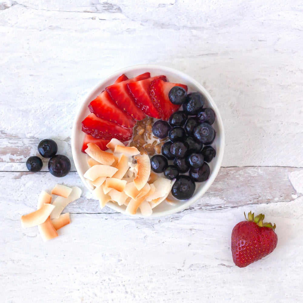 Coconut Berry Sprouted Oatmeal
