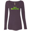LH/NL6731 Next Level Ladies' Triblend LS Scoop