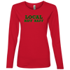 884L Anvil Ladies' Lightweight LS T-Shirt
