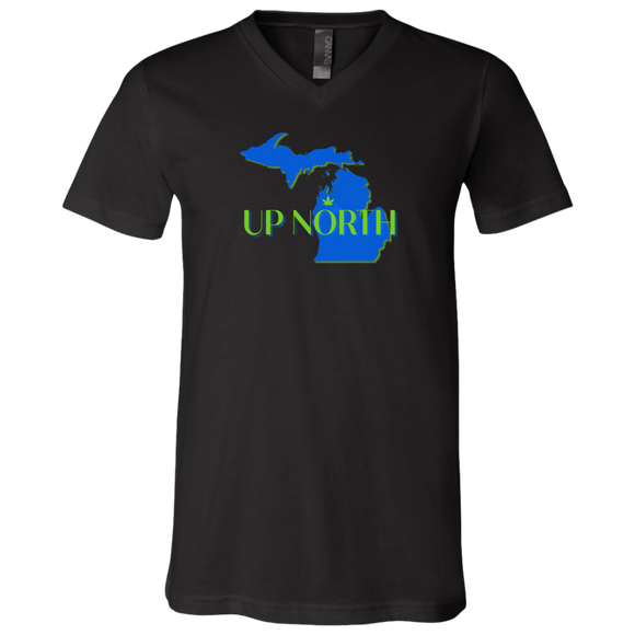 UH/3005 Bella + Canvas Unisex Jersey SS V-Neck T-Shirt
