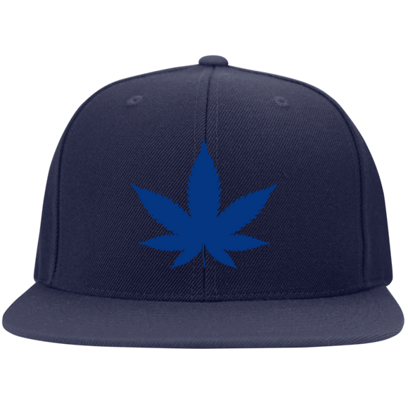 HH/STC19 Sport-Tek Flat Bill High-Profile Snapback Hat