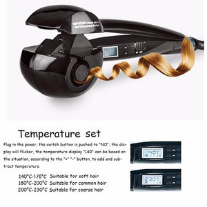 Professional Automatic Steam Hair Curler