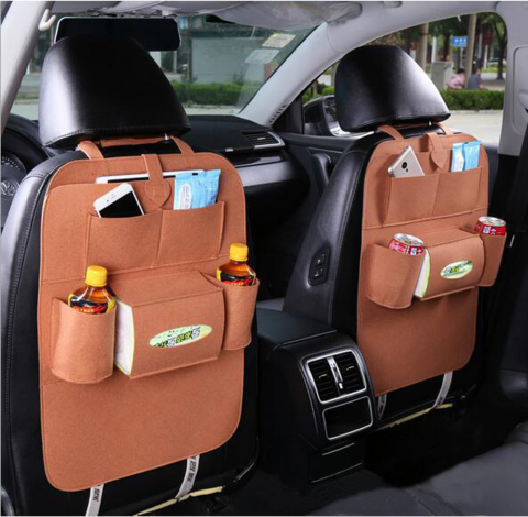 (Only $15.99 Today) Car Seat Back Organizer