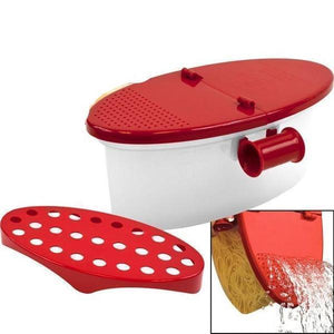 Microwave cooking box