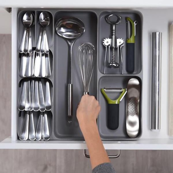 DrawerStore Compact Cutlery Organizer