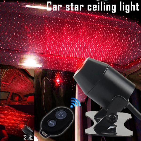 (Last Day Promotion 60% OFF) Car USB LED Ambient Starry Light