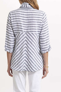 Seaside Stripe Hi Lo Top by Habitat