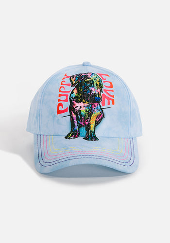 Unisex Ball Cap, Puppy Luv by Dean Russo