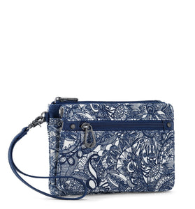 Navy Spirit Desert Corin Flap Wallet by Sakroots