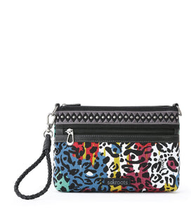 Multi Spotted Wildlife Campus Mini Crossbody by Sakroots