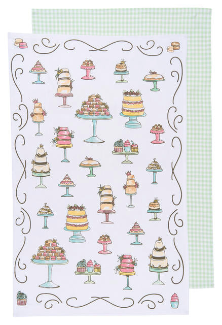 Just Desserts, Set of 2, Tea Towel